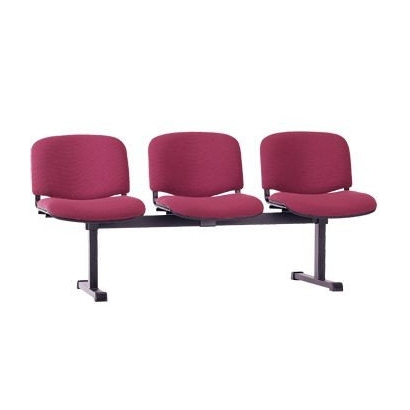 Iso black - 3 стул Изо 3 местный