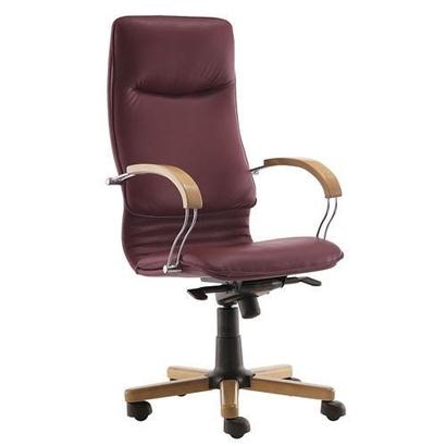 Nova Wood Chrome офисное кресло Нова