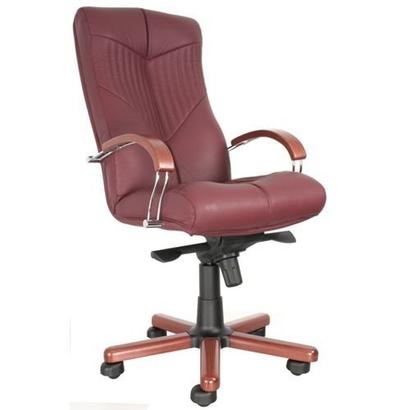 Элитное офисное кресло Торус (Torus Wood Chrome)