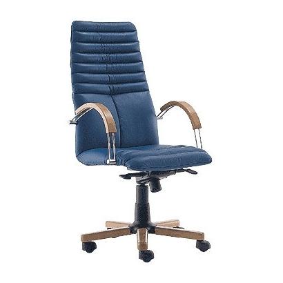 Galaxy wood chrome офисное кресло Гэлэкси вуд хром